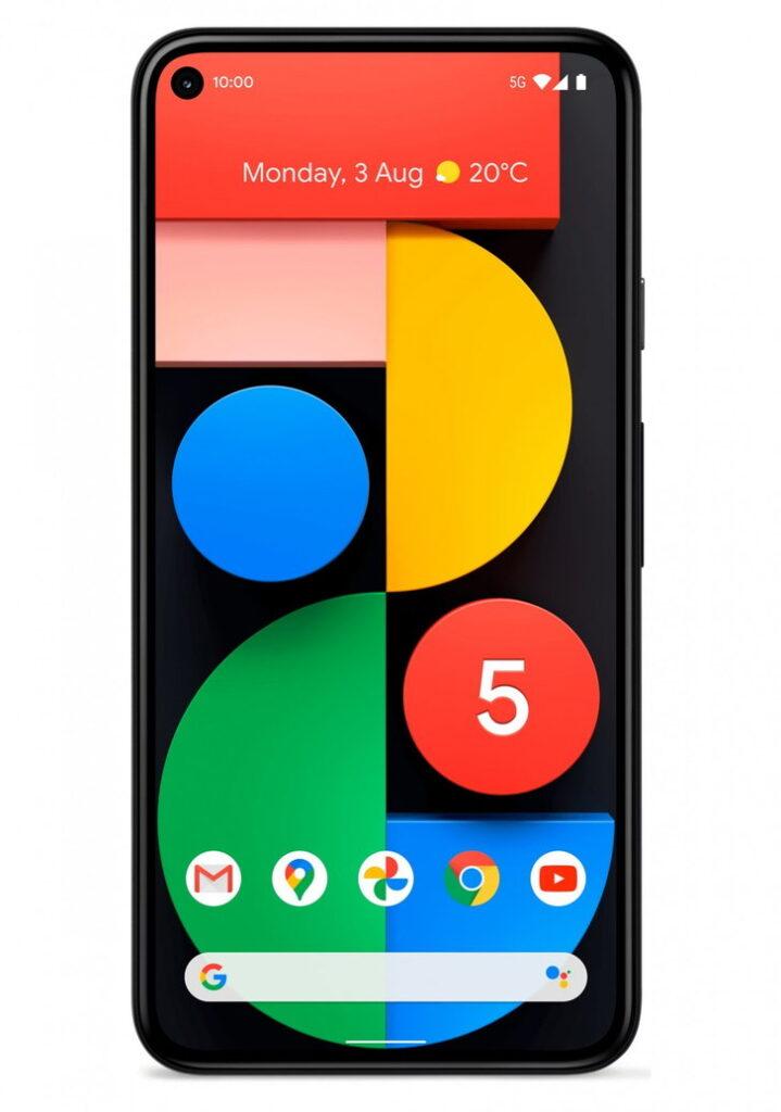 ภาพหลุด Google Pixel 5